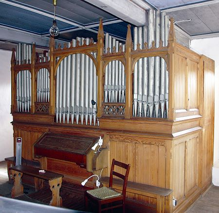 Richard-Kreutzbach-Orgel in Großzössen